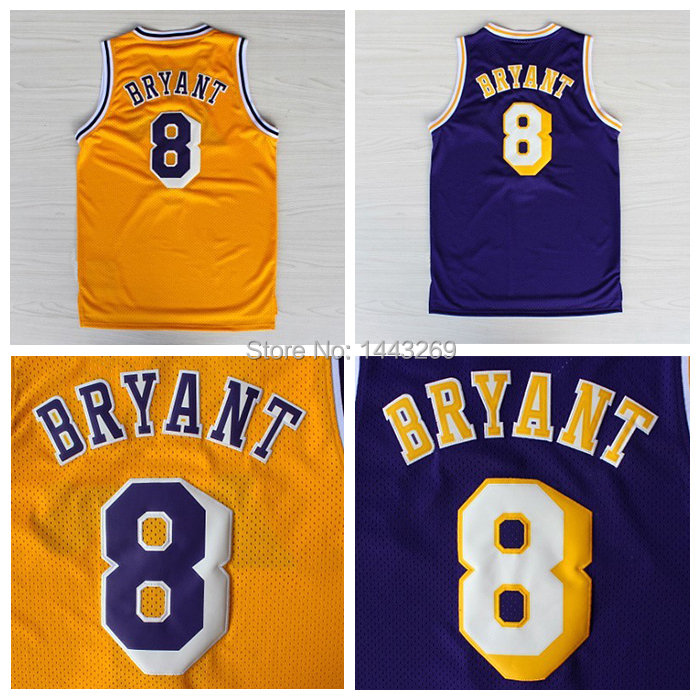 new arrival 65963 0ad7b Free Shipping L.A. Kobe Bryant Rookie Challenge Home Jersey ...