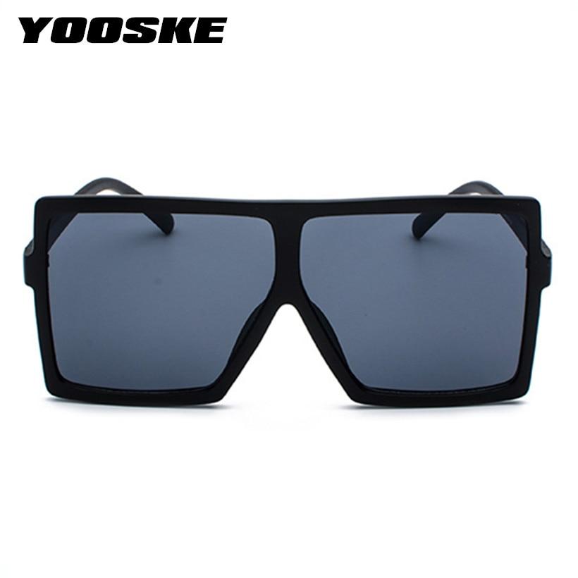 5a2fb6c1025 ... YOOSKE Oversized Sunglasses for Women Men Luxury Brand Designer Vintage  Sun Glasses Female Male Big Frame Black Eyewear. -30%. Click to enlarge