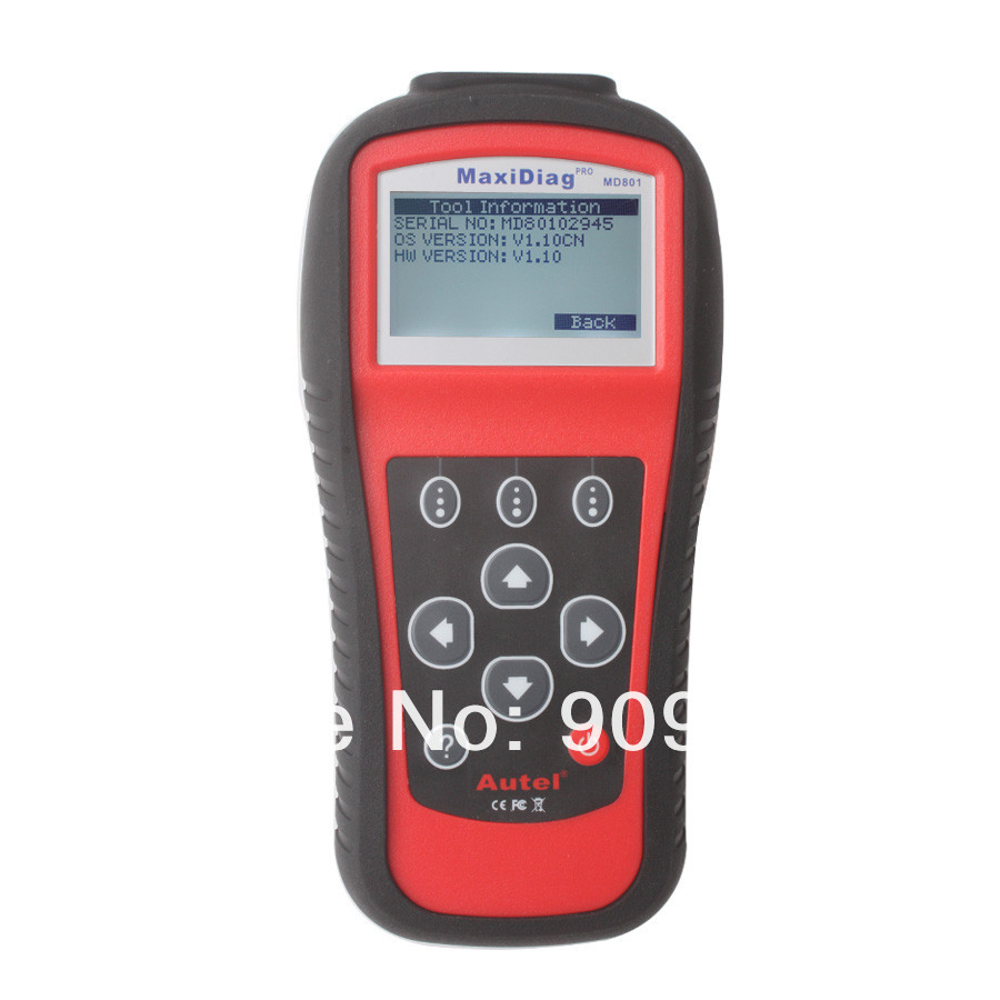 Hotly recommend 2017 top selling diagnose major vehicles autel maxidiag pro md801 4 in 1 auto