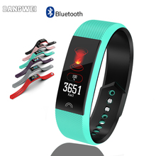 BANGWEI New Smart Watch Men Women Heart Rate Monitor Blood Pressure Fitness Tracker Smartwatch Sport For Ios Android + BOX
