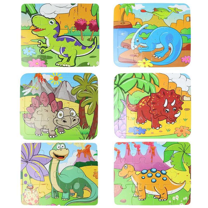 Головоломки Магия строительные Пазлы воды чертежная книга-раскраска Doodle картина Board Дети игрушки подарок животных Пазлы игрушки