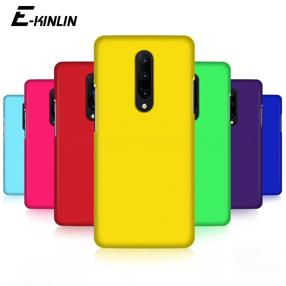 Ultra Thin Phone <font><b>Case</b></font> For <font><b>OnePlus</b></font> One Plus 8 7T 7 Pro 5G 6T 6 5T 5 3T 3 A6013 A6000 <font><b>A5010</b></font> A5000 Frosted Matte Hard PC Back Cover image