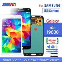 Para pantalla LCD Samsung Galaxy S5 G900 I9600 G900f G900a y montaje de digitalizador de pantalla táctil con herramientas adhesivas
