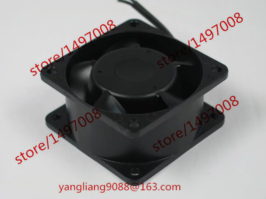 Emacro FULLTECH UF60D23 BWH AC 230V 5/4W 2-wire  60mm 60x60x30mm Server Square  Fan emacro for quan feng qa18060hbl2 server square cooling fan ac 220v 0 35a 180x180x60mm 2 wire
