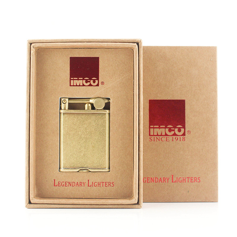 Image 3 - Original IMCO Lighter Retro Gasoline Kerosene Lighter Genuine Ultra Thin Cigarette Lighter Cigar Fire Briquet Petrol Lighters-in Cigarette Accessories from Home & Garden
