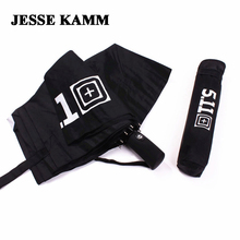 Джесси Kamm Новый полностью автоматическая три складной comapct нежный мужской сильный Ветрозащитный 511 модный бренд Для мужчин Стонга дождь Зонты