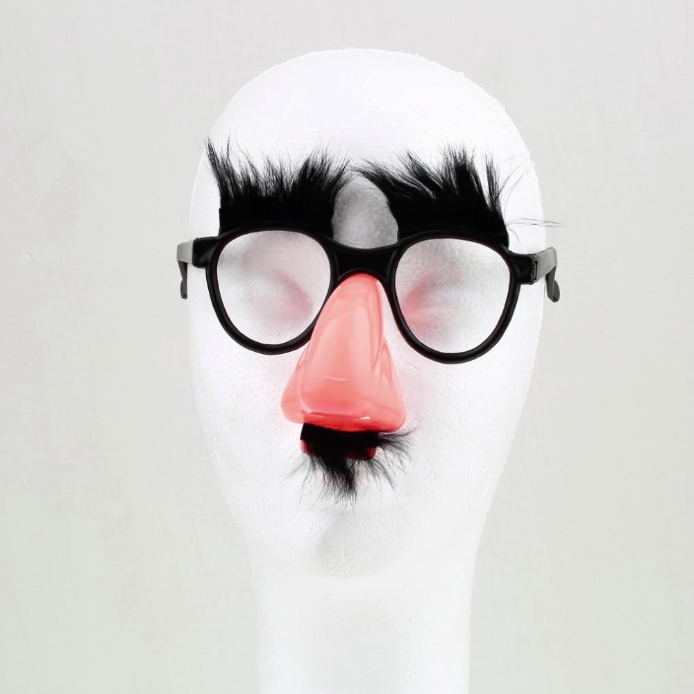 SDFC 1Pcs Fake Nose Ögonbryn Mustasch Clown Fancy Klä upp Kostym - Semester och fester - Foto 2