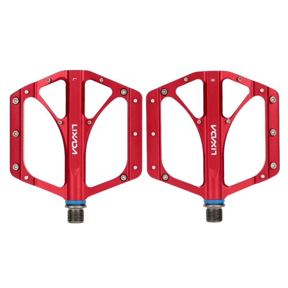 "2Pcs MTB Folding Bicycle CNC Aluminum Alloy Sealed Bearing Platform Pedals 9//16/"""