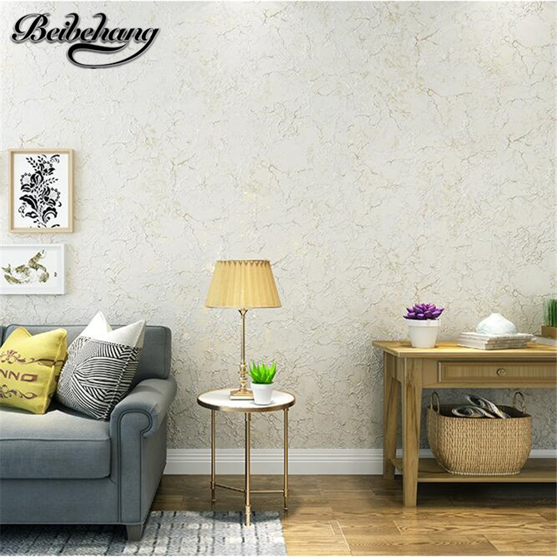 beibehang American simple plain nonwovens wallpaper bedroom living room background solid color retro wallpaper papel de parede beibehang simple plain american mediterranean dark blue wallpaper pure color bedroom living room tv background wallpaper garment