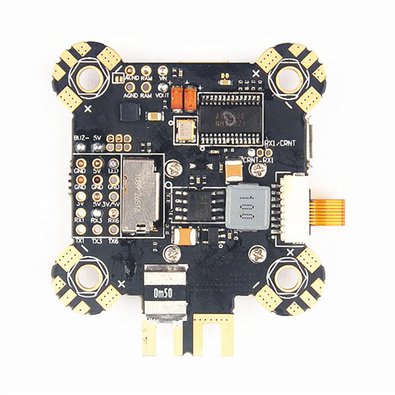 30.5x30.5mm Omnibus F4 Pro Corner Flight Controller AIO OSD PDB BEC Current Sensor and LC Filter Built-in For RC Toys Multirotor jmt betaflight omnibus f3 pro flight controller built in osd bec current sensor for diy rc drone quadcopter