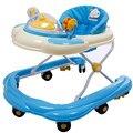 Venta caliente U Tipo Andador Ligero Portátil Bebé niño Caminante Anti Vuelco Plegable Fácil Con Música Juguetes Placa Scooter