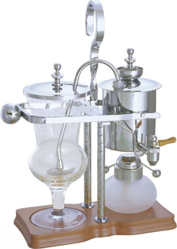 Luxury silivery balancing roayl syphon coffee maker siphon for Best luxury coffee maker
