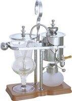 Silivery Luxury Balancing roayl sifão cafeteira/Sifão cafeteira/bule de Chá com qualidade superior  chrsitmas presente perfeito