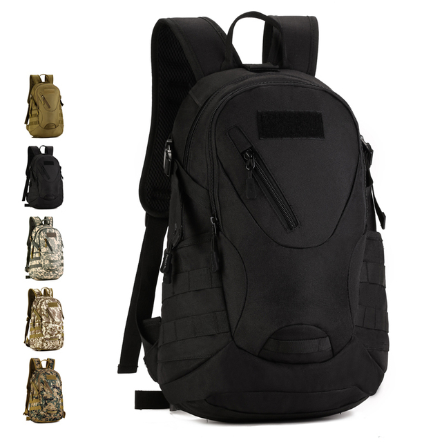 20L Outdoor Hiking Camping Hunting Molle 3P Military Tactical Backpack  1