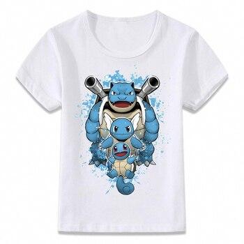 T-shirt enfants Pokemon Tortank
