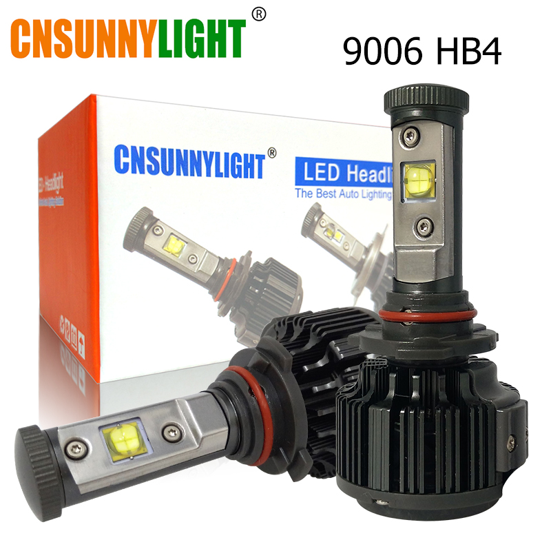 Image 5 - CNSUNNYLIGHT H4 Hi/Lo H7 H11 9005 9006 Led Car Headlights 8000lm 3000K 4300K 6000K High Brightness Auto Lights Conversion Kit-in Car Headlight Bulbs(LED) from Automobiles & Motorcycles