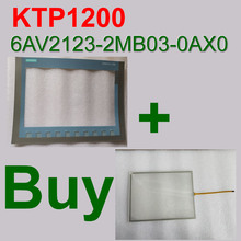 6AV2123-2MB03-0AX0 KTP1200 HMI touch screen panel + 6AV2 123-2MB03-0AX0 membrane keypad touchscreen Repair,Fast SHIPPING