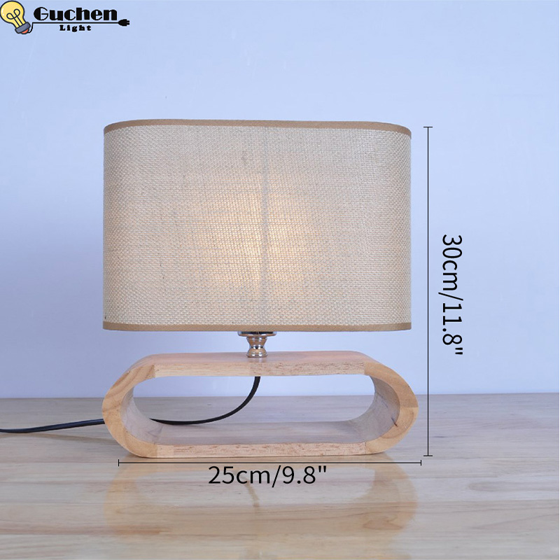 American Table Lamp Vintage Loft Wooden Led Desk Lamp bedside Reading Light Office Lamp Home Lighting Decor Design night lights fluffy synthetic lolita curly flax mixed gold long side bang capless cosplay wig for women