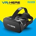 2016 Последним VR ЗДЕСЬ IMAX Широкой 85-95 Градусов Зрения Оригинальной Виртуальной Реальности Гарнитура 3D Очки + Смарт Bluetooth геймпад