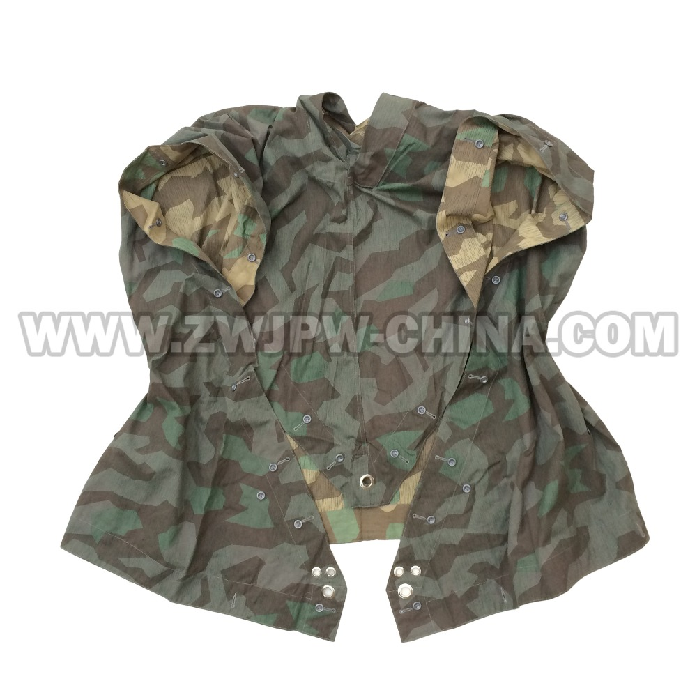 WWII WW2 GERMAN WH MILITARY ARMY SPLINTER OUTDOOR TACTICALCAMOUFLAGE TENT PONCHO RAIN CAP DE/505112 tom clancy's splinter cell 3d