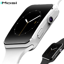 Smart Watch X6 Support SIM TF Card With Camera Smartwatch Bluetooth Men Wrist Watch  for iPhone Xiaomi Android Phone