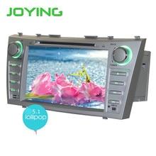 Joying 1024*600 Двухместный 2 Din Quad Core 8 «Android 5.1.1 Автомобильный DVD Gps-навигация Для Toyota Camry 1024*600 HD Головное устройство Стерео