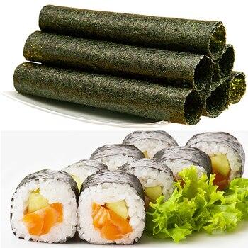 50-100 шт. в наборе, высококачественные суши нори, морские водоросли, закуски для суши, зеленые пищевые водоросли, сушеные суши нори, оптовая продажа