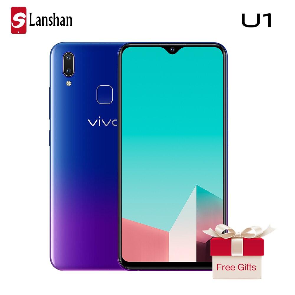 vivo U1 6.2'' Screen 4G RAM 64G ROM Mobile Phone Octa Core Face ID and Fingerprint Dual Camera 4030mAh Big Battery Smartphone