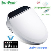 Smart Toilet Seat Washlet Elongate Electric Bidet Cover Heat Sits Led Light Integrated Children Baby Traing