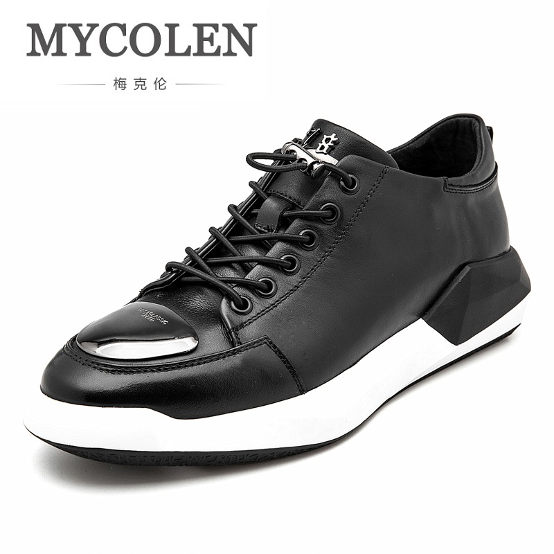 MYCOLEN Spring Summer Casual Shoes For Men New Arrival Fashion Sneakers Outdoors Personality Comfortable Men Shoes Tenis Preto