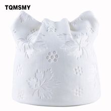 TQMSMY Women Autumn Winter Beanies Hat Ladies Maple Leaf knitted Hats for Woman Skullies with Cat Meow Ear beanie Cap hat TMDH12