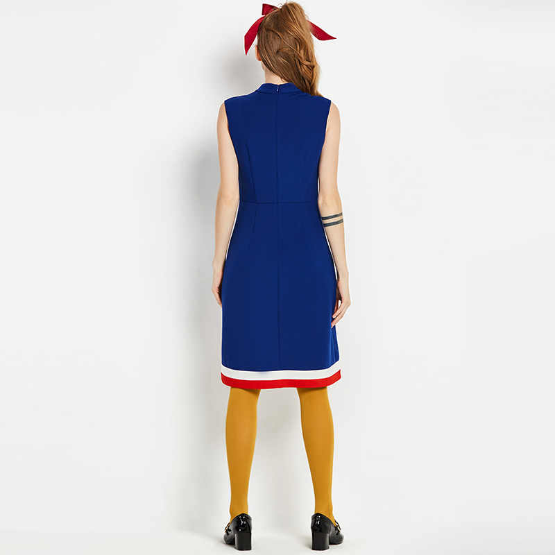 010dd35c13c8c Sisjuly vintage dress 1960s summer geometric blue patchwork dress women  party dresses sleeveless sheath sexy 60s retro dress