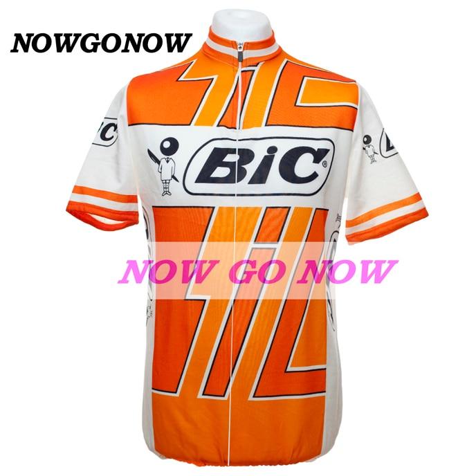 Prix pour Personnalisé 2017 hommes cyclisme jersey Rétro clothing bike wear pro équipe racing équitation frais ropa ciclismo nowgonow