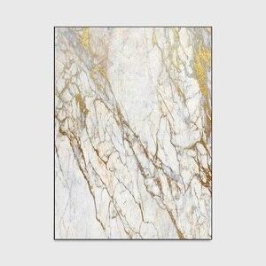 Image 5 - Модный Европейский стиль, имитация белого золота, мраморный ковер, бархатный ковер для спальни, индивидуальный кухонный коврик для гостиной, нескользящий ковер