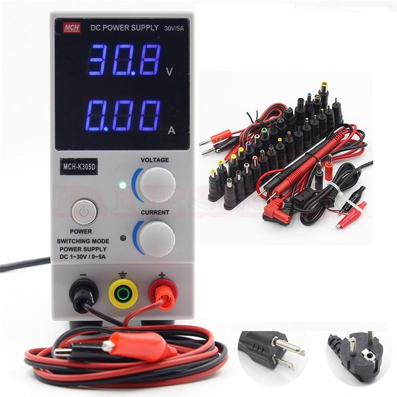 MCH K305D portátil Mini DC regulada ajustable DC fuente de alimentación teléfono móvil portátil Reparación de energía-in Fuente de potencia de conmutación from Mejoras para el hogar on AliExpress - 11.11_Double 11_Singles' Day 1