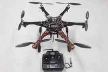 F05114-X F550 Drone FlameWheel Kit With QQ HY ESC Motor Carbon Fiber Propellers + RadioLink 6CH TX RX+Tall Landing Skid PTZ