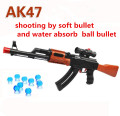 AK 47 Paintball Toy Gun 600 Pcs Water Absorb Bullet 3 Pcs Soft Bullet Pistol Gun Water Gun Crystal Bullet Airgun Orbeez Toy
