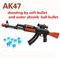 AK 47 pistola de Juguete Pistola de Paintball 600 Unids Absorber Agua Bala 3 piezas de la Bala Suave Pistola Pistola de Agua de Cristal De Bala Orbeez juguete