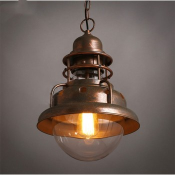 Industrial Style Vintage Loft LED Pendant Lights Bar Restaurant Livingroom Decoration Lamp Hanging Light Fixtures Free Shipping