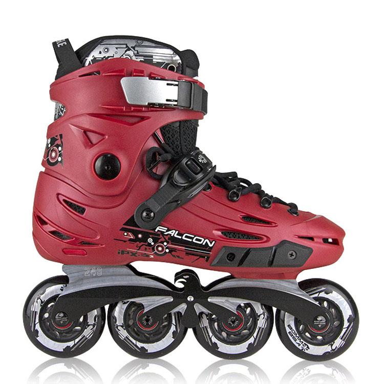 free shipping roller skates adults in-line roller skates flying eagle F6 цена