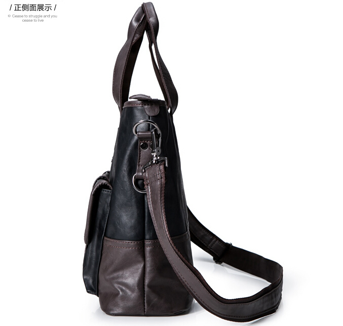 fb115dbb72 YESETN bag new hot brand high quality men handbag male vintage leather bags  fashionable cross body shoulder bags tote-in Top-Handle Bags from Luggage    Bags ...