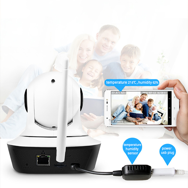 IMIEYE HD 720P IP Camera Wireless Wifi CCTV IR Night Vision Webcam TF Card PTZ Onvif Network Security Surveillance Baby Monitor