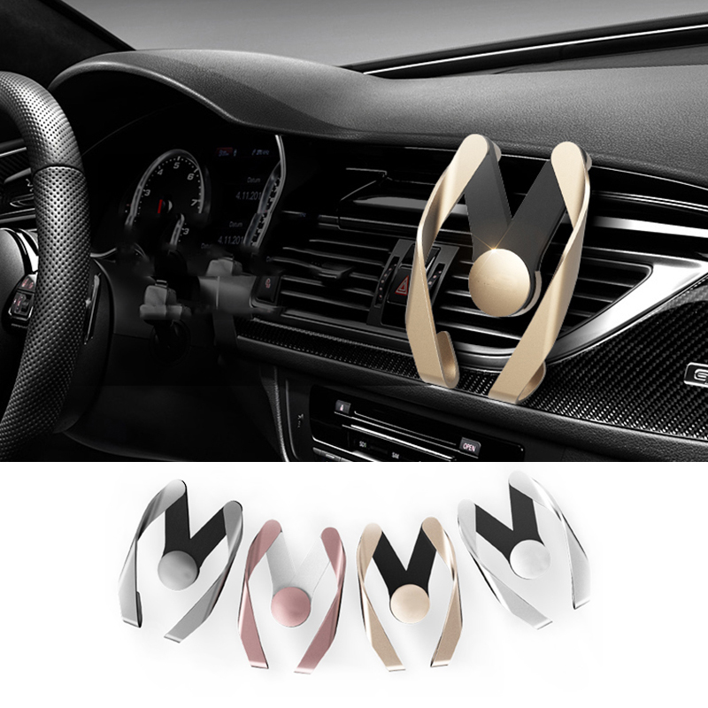 1pcs car Phone Air Vent Stand Mount For Audi A4 A6 A3 A5 A7 A8 R8 Q3 Q5 Q7 TT B5 B6 B7 B8 S line 2pcs led logo door courtesy projector shadow light for audi a3 a4 b5 b6 b7 b8 a6 c5 c6 q5 a5 tt q7 a4l 80 a1 a7 r8 a6l q3 a8 a8l