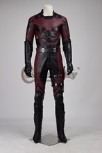 Cosplaydiy Daredevil Adult Men Costume Halloween Carnival Superhero Cosplay Cotumes Outfit Custom Made D0305