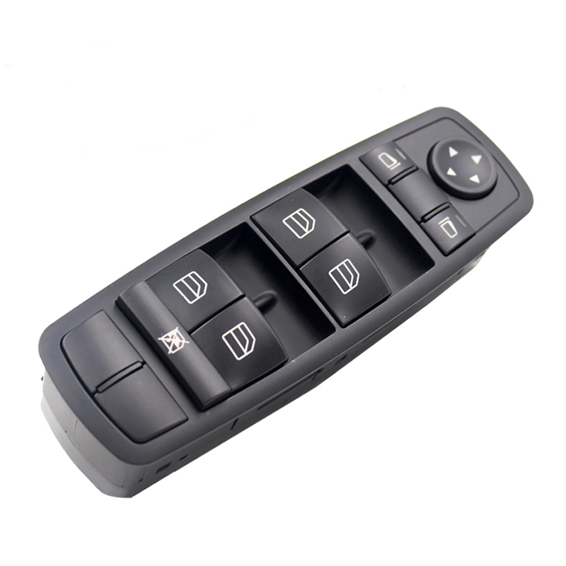 Car Left Front Door Window Mirror Master Switch For Mercedes W164 ML GL R Class 2518300090 A2518300090 2518200110 in Car Switches Relays from Automobiles Motorcycles