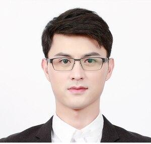 Image 2 - Wearkader montures de lunettes, Design sans vis, Ultra légères, Ultra fines, monture de lunettes pour hommes, myopie