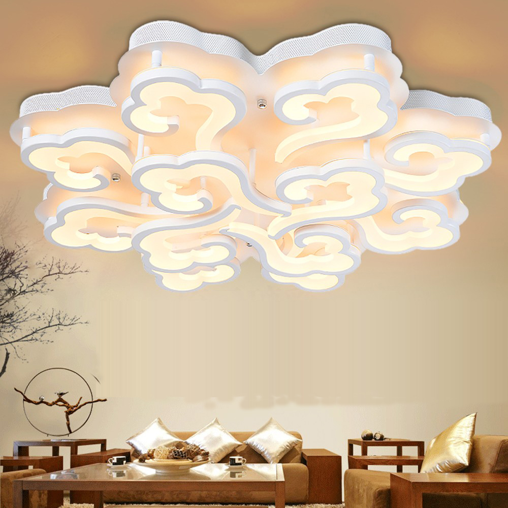 cloud lighting fixtures. led modern cloud acrylic alloy lampled lightceiling lightsled ceiling lamp for foyer bedroom dinning room lighting fixtures