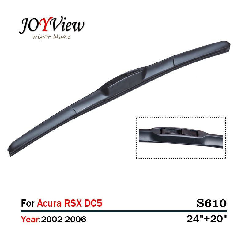 """S610 24""""+20"""" CAR WIPER BLADE FIT FOR Acura RSX DC5 (2002"""