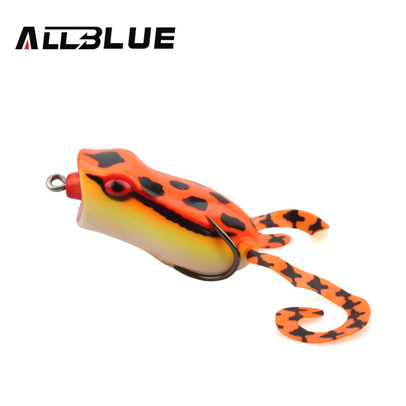 Allblue popper frog lure 60mm 15g 60mm 15g snakehead for Frog lures for bass fishing