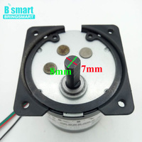 Bringsmart 70KTYZ Permanent Magnet Small Synchronous Motor 40W Adjustable Direction 220V AC Reduction Geared Motor CW CCW